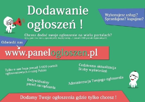 Dodawanie Ogłoszeń W Całej Polsce. Chcesz Dodać Ogłoszenie Na Wielu Portalach? Zrobimy To Za Ciebie.