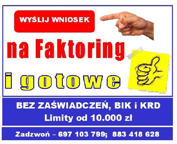 Faktoring = Pozabankowa Pożyczka Dla Firm, łagodnie
