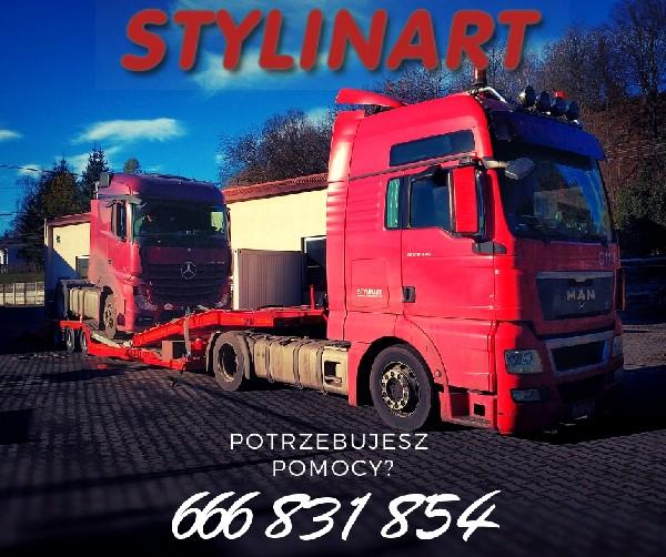 Stylinart Serwis | Pomoc Drogowa, Laweta, Holowanie Tir