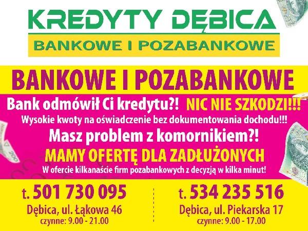 Kredyty Pożyczki Bankowe I Pozabankowe