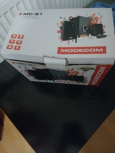 Sprzedam Głośniki Modecom Mc-s1 W Głośniki Komputerowe W Idealnym Stanie Warto Polecam