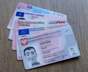 Dokumenty Kolekcjonerskie. Dowód Osobisty, Prawo Jazdy.