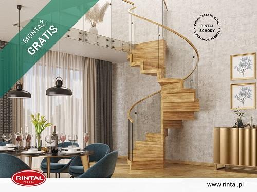 Nowy sezon to czas na zmiany! A może także nowe SCHODY? Firma Rintal proponuje najlepsze rozwiązanie. W kwietniu producent oferuje swoim Klientom wyjątkową promocję: montaż schodów za 0zł! Tylko teraz możecie Państwo zainwestować w nowoczesne schody Rintal z niepowtarzalnymi poręczami i balustradami bez dodatkowych opłat za montaż. W kwietniu obowiązuje wyjątkowa PROMOCJA - MONTAŻ GRATIS. Od 01.04 do 30.04.2021 r. możecie Państwo skorzystać ze zniżki przy zakupie schodów wraz poręczami i balustradami. Zapraszamy do zapoznania się ze szczegółami promocji, a także ze wzbogaconą o nowe modele schodów ofertą Rintal. Wszystkie informacje dostępne są na stronie internetowej: www.rintal.pl. Doradcy Rintal są do dyspozycji na terenie całego kraju. Pomiar, projekt oraz fotorealistyczna wizualizacja schodów GRATIS!www.rintal.pl k.prabucka@rintal.pl+48 58 532 42 55